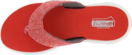 Skechers GOwalk Move 13632 Damen Zehentrenner red Gr.35