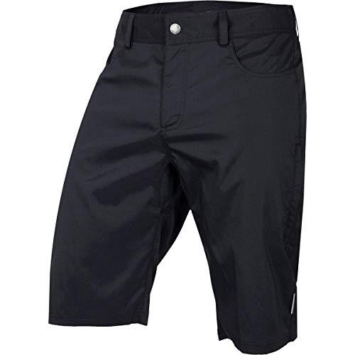 Club Ride Apparel Mountain Surf Cycling Short - Men's Biking Shorts (Black Plaid, X-Large)