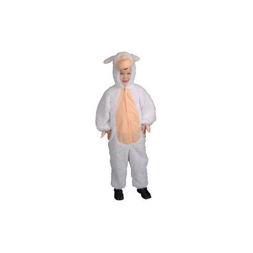 [Plush Lamb Child Halloween Costume Size 4T Toddler] (Lamb Costumes For Toddler)