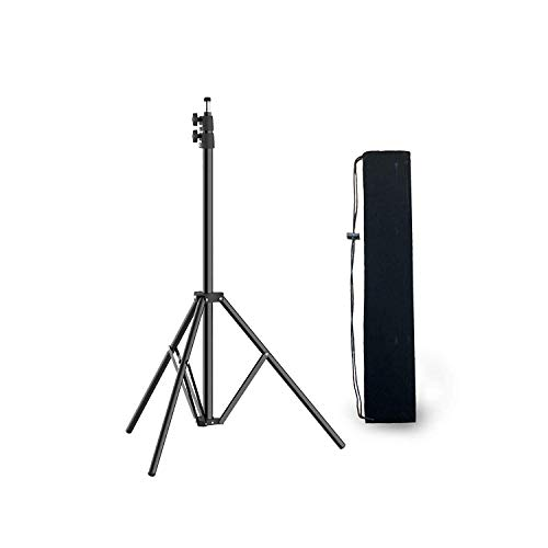 PIXEL BCK36241 Pixel Tripod Aluminum Lighting Stand, 79-inch /200cm Video Lighting Stand Adjustable Photography Lighting Stands with Carry -