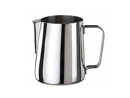 Jarra leche/café y espuma de leche en acero inoxidable 350 ml