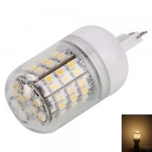 G9 3.6W 60LED 240LM 3000K Warm White Light Corn Light with Transparent Cover (200-240V)