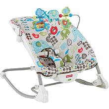 Fisher-Price Deluxe Infant to Toddler Rocker, Multi by Fisher-Price