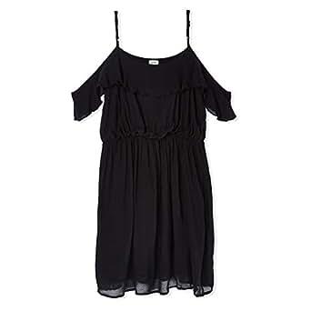 Pimkie Pleated Dress for Women - Black