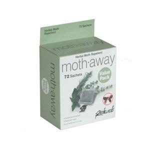 Richards Moth Away/Herbal - 3 pack - 72 satchets