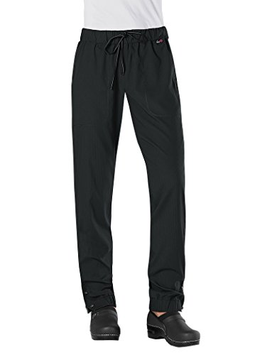 KOI Lite Women's Happiness 723 Drawstring Elastic-Waist Pant Black XX-Large