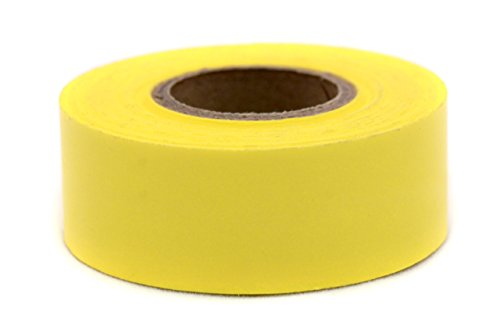 ChromaLabel 1 inch Color-Code Labeling Tape | 500 inch Roll (Yellow) - Labeling Yellow Tape