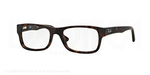 Ray-Ban Eyeglasses RX5268 5211 Tortoise 52 17 - Tortoise Prescription Ban Ray Glasses