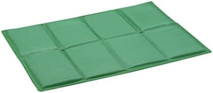 sin4sey 2er Set faltbares Sitzkissen Unterseite isoliert im Zugbeutel (grün)