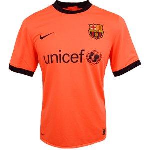 Nike Camiseta FC Barcelona 2ª Equipación 2009 10 Salmon  Amazon.es   Electrónica 33573a69c1b