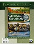 Grade 9 Writing and Grammar Teacher's Edition, , 1591664586