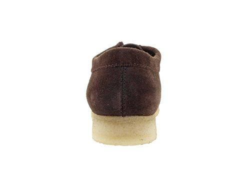 Brown Wallabee Men's Shoe Suede CLARKS Dark Zg8HwIq