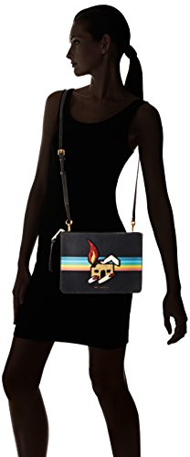 Black Marc Flat Jacobs Rainbow Crossbody Y4c00OF8