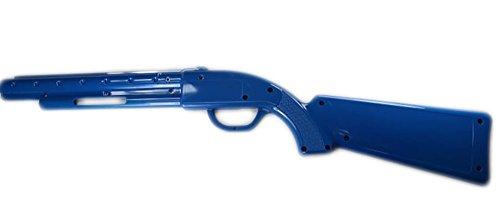 Happ Pump Action Rifle Blue Left Half