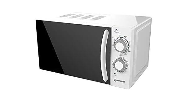 Grunkel - Microondas con grill blanco de 20 litros de capacidad y ...