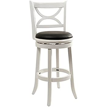 Amazon Com Boraam 43729 Florence Bar Height Swivel Stool