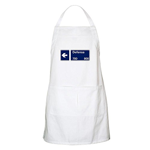 CafePress - Calle Defensa, Buenos Aires (AR) BBQ Apron - Kitchen Apron with Pockets, Grilling Apron, Baking Apron