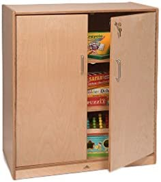 Whitney Brothers WB1414 Lockable Supply Cabinet