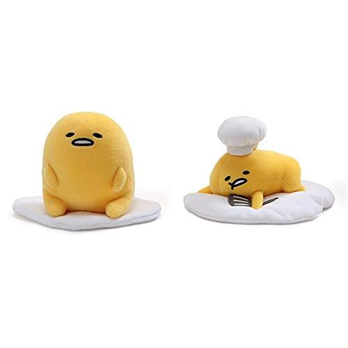 "GUND Gudetama Stuffed Animal Plush Bundle Gudetama ""Lazy Chef Egg with Hat and Spatula"" Stuffed Animal Plush, 7.5"""