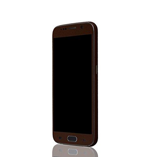AppSkins Vorderseite Samsung Galaxy S6 Leather brown