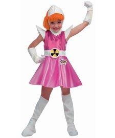 Childs Deluxe Atomic Betty Costume Dress Medium