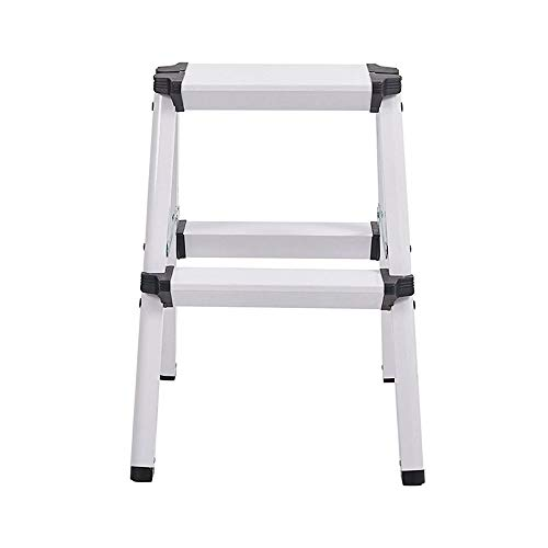 AINIYF Aluminum Folding Ladder Indoor Herringbone Ladder Lifting Double Step Ladder Bench Small Ladder