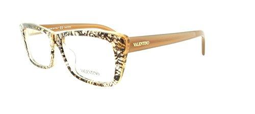 VALENTINO Eyeglasses V2664 250 Beige Lace - Glasses Valentino Eye