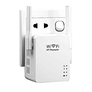 KuWF Wi-Fi Extender,360 Degree Wi-Fi Range Extender,Better Wireless Performance in Penetrating Walls Wi-Fi Network Extender with Micro USB 5V/2A AC Charger AU Version