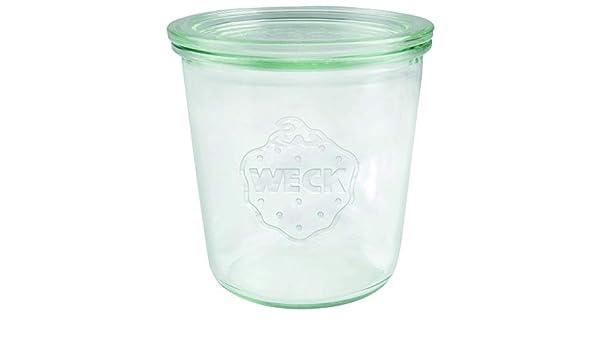Weck 742 Cristal Bormioli Fido 500 ml (einweck de calidad, con ...