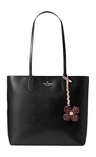 Kate Spade New York Kerri Medium Tote Black Leather Handbag Large