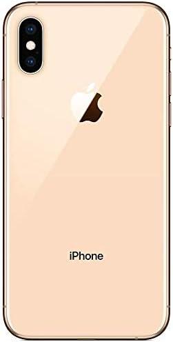 Apple iPhone Xs 5.8in Smartphone GSM Unlocked 64GB 12MP 4G LTE (Renewed) (Gold)
