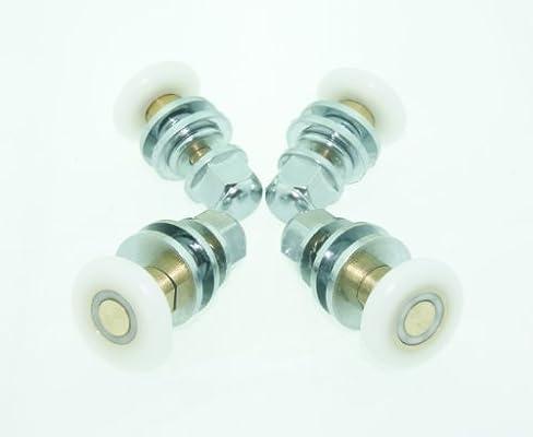 8 x para mampara de ducha de soportes para cañas de pescar/guías de/con dientes/Ruedas de diámetro 23 mm L060-1: Amazon.es: Hogar