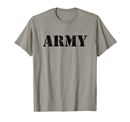 Vintage USA Army T Shirt Military Logo US Retro T-Shirt Gift