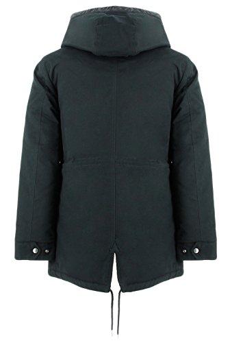 Rich Woolrich Cotton Termica Uomo Army Penn Eskimoblack Giacca xnzI4f