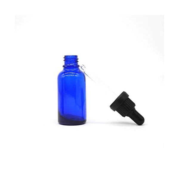 Botellas Cuentagotas con Aromaterapia Pipeta Cuentagotas Cristal 12Pcs E-L/íquidos Masaje,Fragancia Laboratorio para Aceite Esencial Yizhao Transparente Frasco Cuentagotas Cristal 30ml