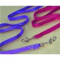 k Nylon Lead with Swivel Snap, 3/8-Inch x 4-Feet, Purple ()