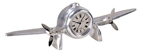 Park Avenue Collection Art Deco Flight Clock ()