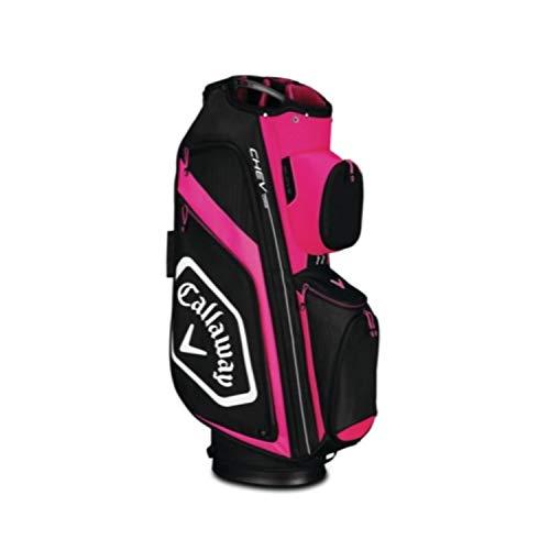 Callaway Cooler Golf Cart (Callaway Golf Callaway CART Bag Callaway Chev Org Cart Bag (Cart Bag, Pink/White/Black), Pink/White/Black)