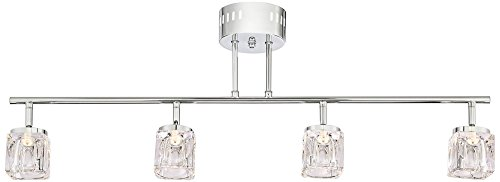 Possini Euro Cube Chrome and Crystal Track (Cube Track Light)