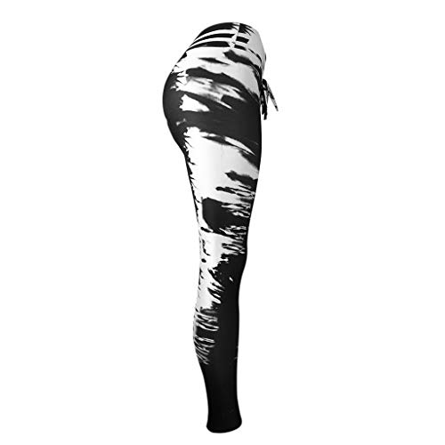 263253789500e SGMORE ❤ Printed Yoga Pants High Waist Fitness Plus Size Workout Leggings  Tommy Control Capris for