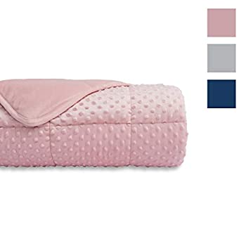 Image of ALANSMA Weighted Blanket for Adult Minky Velvet Warm Luxury Designer Blanket | Enjoy Quality Sleep Anywhere Alansma B0811QK3Q2 Weighted Blankets