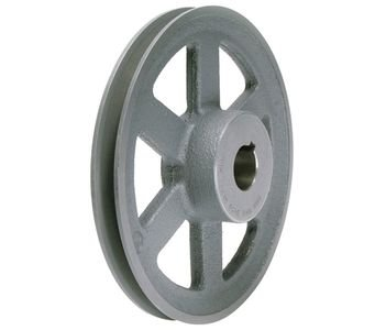 "6.93"" X 3/4"" Single Groove HVAC Pulley # AL74X3/4"