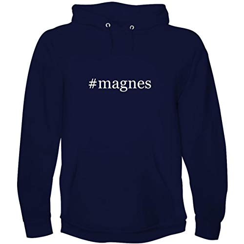 (The Town Butler #Magnes - Men's Hoodie Sweatshirt, Navy, XX-Large )