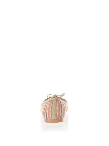 Jonny´s Vegan, Ballerine donna arancione Orange 39
