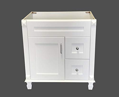 White Shaker solid wood