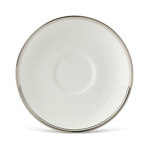 - Mikasa Gothic Platinum Tea Saucer, Silver