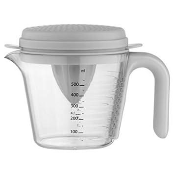 Venn apilamiento juego de jarra medidora Set con exprimidor, separador de huevo y colador: Amazon.es: Hogar
