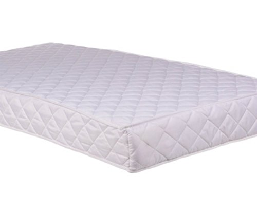 COT BED MATTRESS BREATHABLE FOAM MATTRESS COT BED Size 160cm x 70cm x 10cm (63x27x4 Inches) by clicktostyle