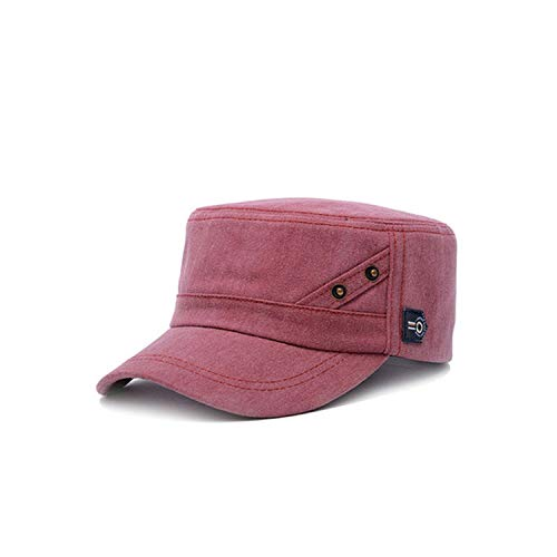 Cotton Military Hats for Men Classic Flat Hat