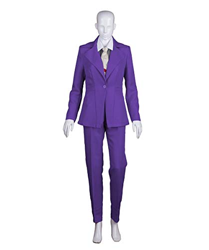 Exclusive! Women's Deluxe Costume for Cosplay Singer Bowie Purple Prince Party Suit HC-390 for $<!--$54.99-->